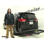 Rola  Hitch Cargo Carrier Review - 2018 Chrysler Pacifica