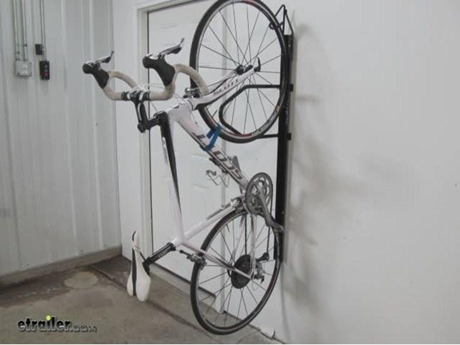 LOCKABLE STAND BRACKET WALL MOUNTED BIKE BICYCLE BIKES STORAGE RACK