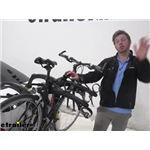 Saris Trunk Mounted Bike Racks Cable and Loop Lock Review