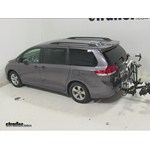 Saris Freedom Hitch Bike Racks Review - 2014 Toyota Sienna