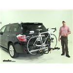 Saris Freedom Hitch Bike Racks Review - 2008 Toyota Highlander