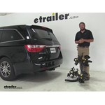 Saris Freedom Hitch Bike Racks Review - 2013 Honda Odyssey