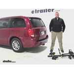 Saris Freedom Hitch Bike Racks Review - 2015 Dodge Grand Caravan