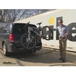 Saris  Hitch Bike Racks Review - 2014 Dodge Grand Caravan