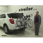 Saris  Hitch Bike Racks Review - 2015 Chevrolet Equinox
