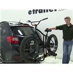 Saris  Hitch Bike Racks Review - 2015 Subaru XV Crosstrek