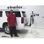 SportRack  Hitch Bike Racks Review - 2015 Chevrolet Suburban