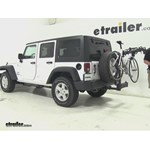 SportRack  Hitch Bike Racks Review - 2015 Jeep Wrangler Unlimited
