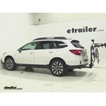 SportRack  Hitch Bike Racks Review - 2015 Subaru Outback Wagon