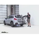 SportRack  Hitch Bike Racks Review - 2015 Subaru XV Crosstrek