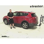 SportRack  Hitch Bike Racks Review - 2015 Toyota RAV4