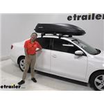 SportRack Roof Box Review - 2013 Volkswagen Jetta