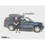 SportRack  Roof Cargo Carrier Review - 2007 GMC Yukon XL