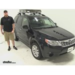 SportRack  Roof Cargo Carrier Review - 2012 Subaru Forester