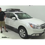SportRack  Roof Cargo Carrier Review - 2012 Subaru Outback Wagon