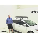SportRack  Roof Cargo Carrier Review - 2014 Ford Focus
