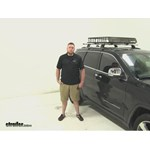 SportRack  Roof Cargo Carrier Review - 2014 Jeep Grand Cherokee