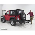 Stromberg Carlson  Hitch Cargo Carrier Review - 2016 Jeep Wrangler