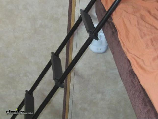 Stromberg Carlson Rv Bunk Ladder Aluminum Black 66 Tall Stromberg Carlson Rv Ladders La 466b