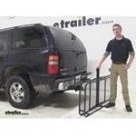 Surco Products 24x60 Hitch Cargo Carrier Review - 2003 Chevrolet Tahoe