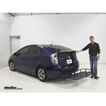 Surco Products  Hitch Cargo Carrier Review - 2012 Toyota Prius