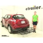Surco Products  Hitch Cargo Carrier Review - 2016 Nissan Juke