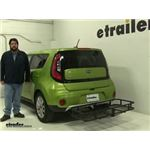 Surco Products  Hitch Cargo Carrier Review - 2017 Kia Soul
