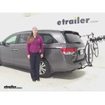 Swagman  Hitch Bike Racks Review - 2015 Honda Odyssey
