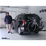 Swagman  Hitch Bike Racks Review - 2016 Subaru Forester