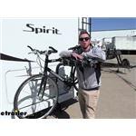 Swagman Hitch Bike Racks Review - 2017 Winnebago Spirit Motorhome