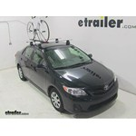 Swagman Upright Roof Mounted Bike Rack Review - 2013 Toyota Corolla