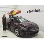 Swagman  Watersport Carriers Review - 2014 Nissan Maxima
