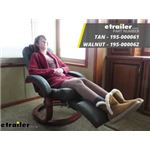 Thomas Payne RV Euro Recliner Chair with Footrest Review