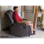 Thomas Payne Swivel Glider RV Recliner with Footrest Review and Installation