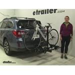 Thule Doubletrack Hitch Bike Racks Review - 2016 Subaru Outback Wagon