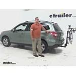 Thule  Hitch Bike Racks Review - 2015 Subaru Forester