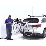 Thule Hitch Bike Racks Review - 2016 Acura MDX
