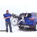 Thule Hitch Bike Racks Review - 2017 Ford Escape
