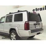Thule Hitching Post Pro Hitch Bike Racks Review - 2010 Jeep Commander