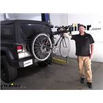 Thule Hitching Post Pro Hitch Bike Racks Review - 2019 Jeep Wrangler Unlimited