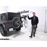 Thule Hitching Post Pro Hitch Bike Racks Review - 2020 Jeep Wrangler Unlimited