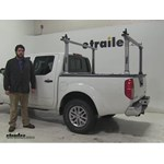 Thule  Ladder Racks Review - 2016 Nissan Frontier