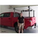 Thule  Ladder Racks Review - 2016 Toyota Tundra