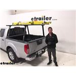 Thule Ladder Racks Review - 2019 Nissan Frontier