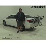 Thule Passage Trunk Bike Racks Review - 2013 Honda Civic