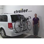 Thule Passage Trunk Bike Racks Review - 2016 Dodge Grand Caravan