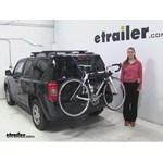Thule Passage Trunk Bike Racks Review - 2016 Jeep Patriot