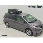 Thule Pulse Large Rooftop Cargo Box Review - 2014 Toyota Sienna
