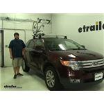 Thule  Roof Bike Racks Review - 2010 Ford Edge
