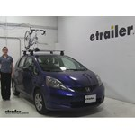 Thule  Roof Bike Racks Review - 2011 Honda Fit
